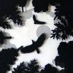 Forest Shadow Box Art